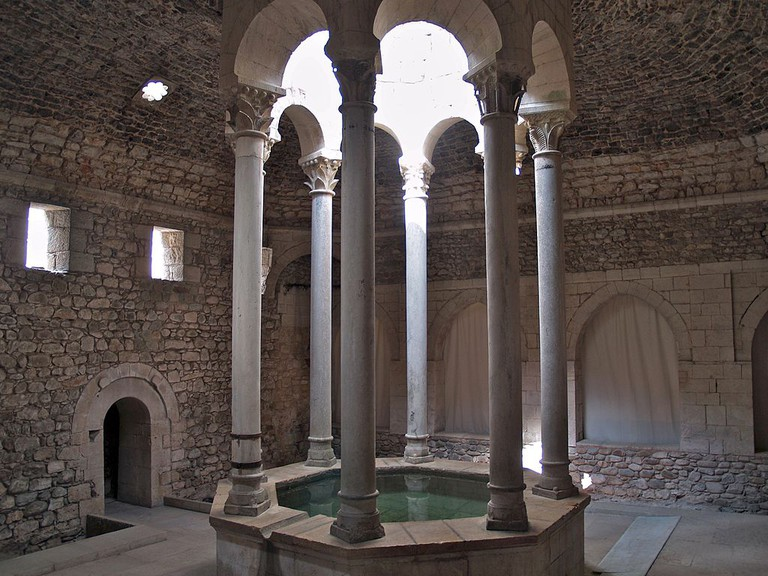 Arabic Baths Girona, Spain
