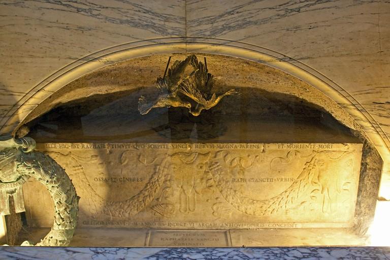 Tomb of Raphael | © Wknight94/Wikimedia Commons