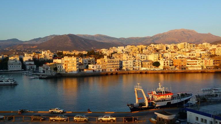 View of Agios Nikolaos, Crete │