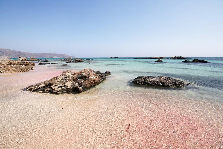 Elafonisi beach, Crete │