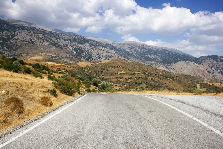 Somewhere in the mountains near the village of Fourfouras in Crete │