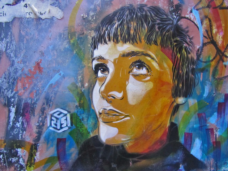 A mural from C215 in Malasaña | © Marta Nimeva Nimevien/Flickr