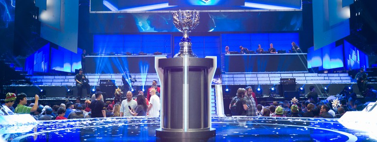 League of Legends championships attract huge crowds.