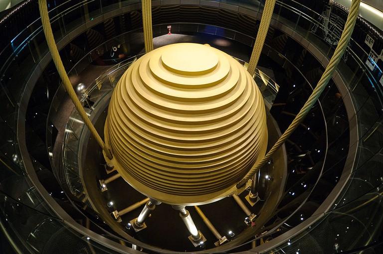 Taipei 101 tuned mass damper