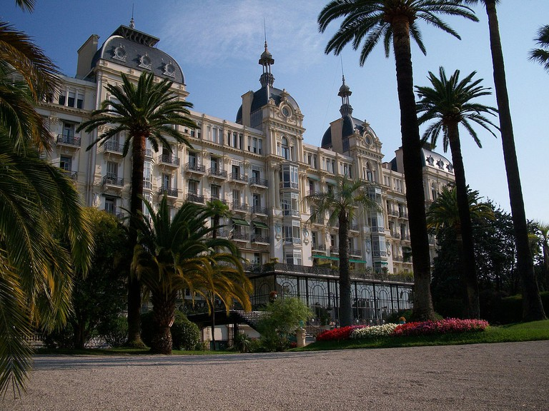 The Hotel Excelsior where Queen Victoria repeatedly stayed under the name Lady Balmoral