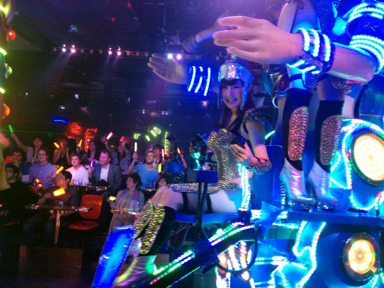 Shinjuku Robot restaurant | © Cory Doctorow / Flickr