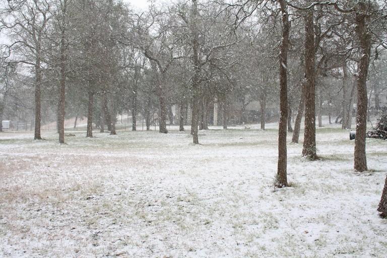 Austin snow storm