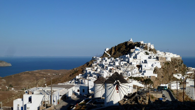 View of Hora of Serifos