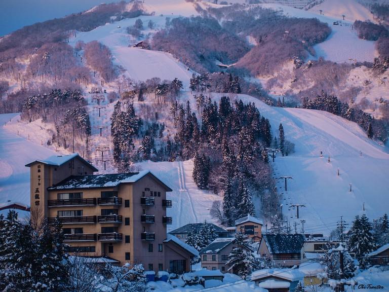 A ski resort in Hakuba   © Chi Tranter/Flickr