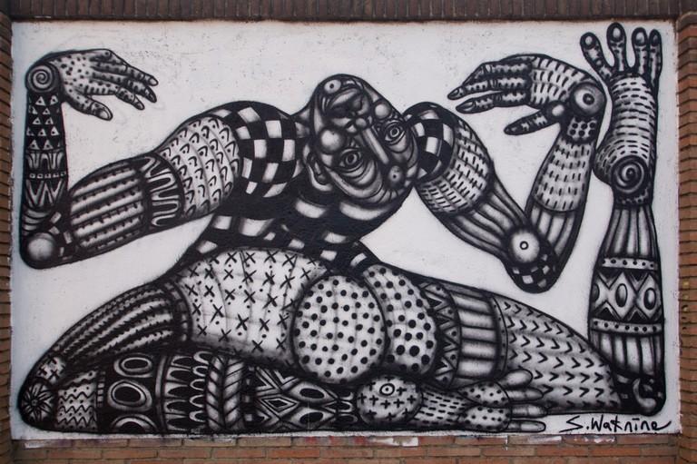 Street art in Poblenou | © Almusaiti