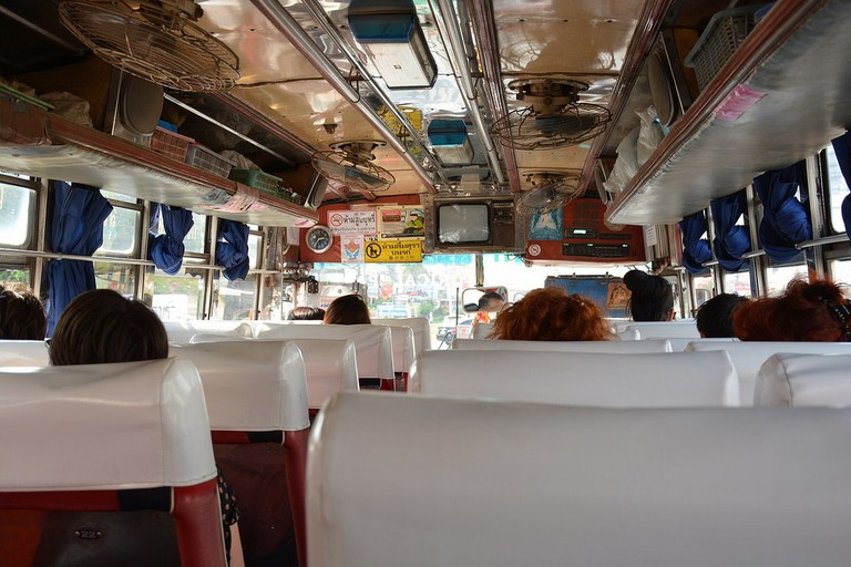 Bus transportation (Thailand 2014)