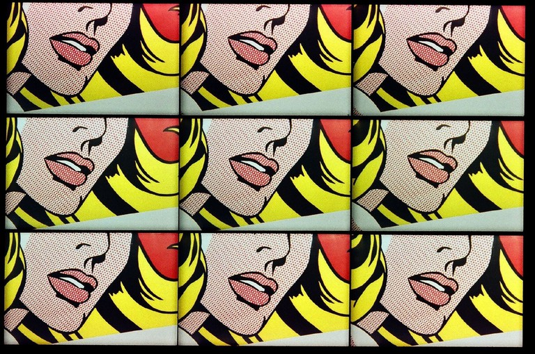 Roy Lichtenstein. Courtesy of Raphaël Labbé/Flickr