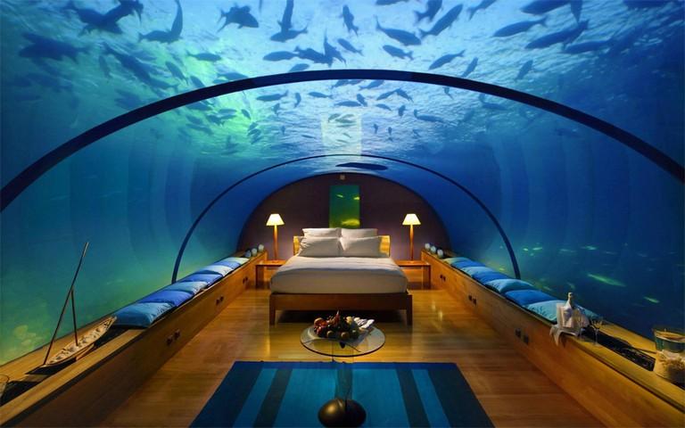 Underwater room at Atlantis