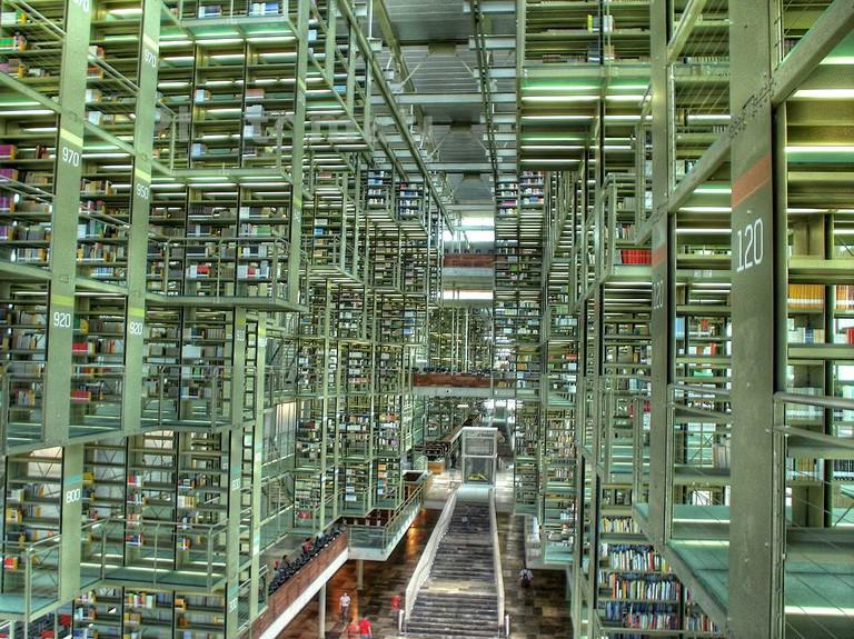 Biblioteca Vasconcelos | © Eneas de Troya/Flickr