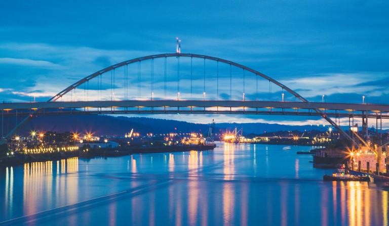Fremont Bridge Sunset, Portland | © Tony Webster/Flickr
