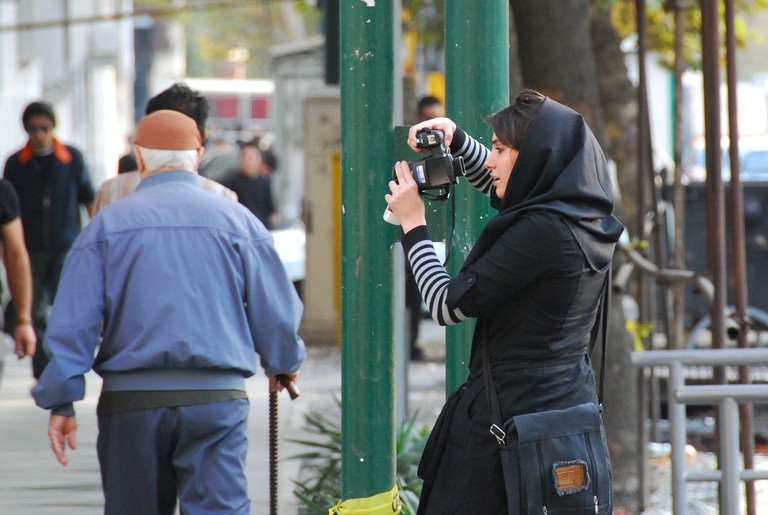 Street photographer in Tehran | © Paul Keller / Flickr