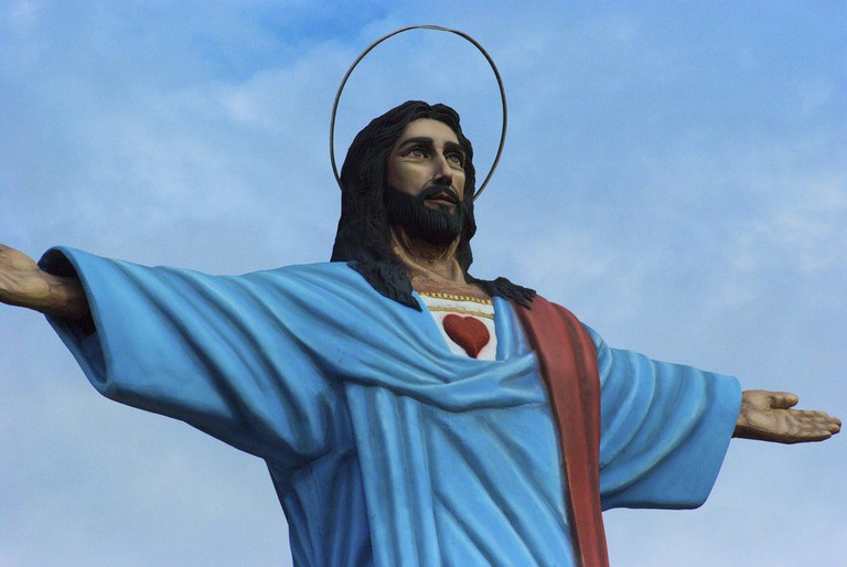 A 12 meter Jesus effigy at Tierra Santa, Buenos Aires | © Kevin Jones/Flickr