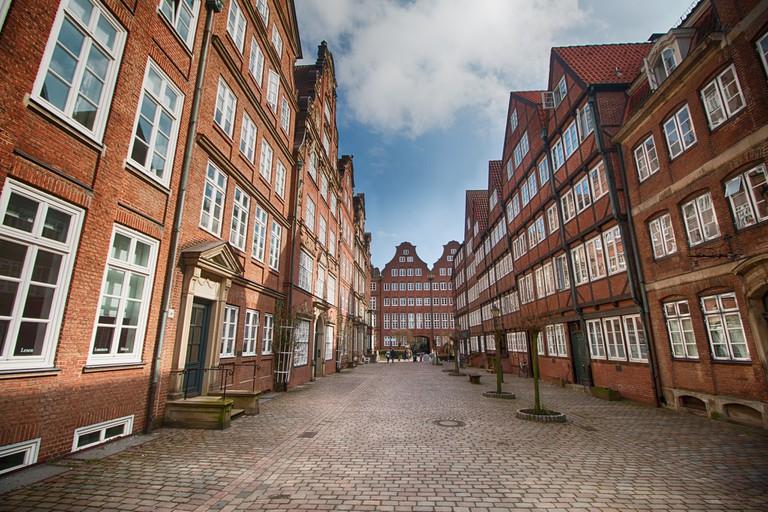 Historic buildings on Peterstrasse