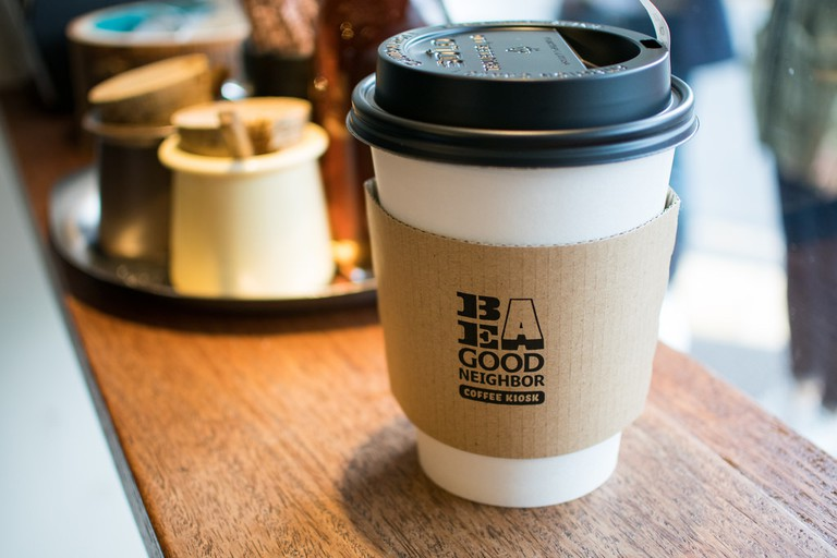 Be A Good Neighbor coffee kiosk in Harajuku | © Ryosuke Yagi/Flickr