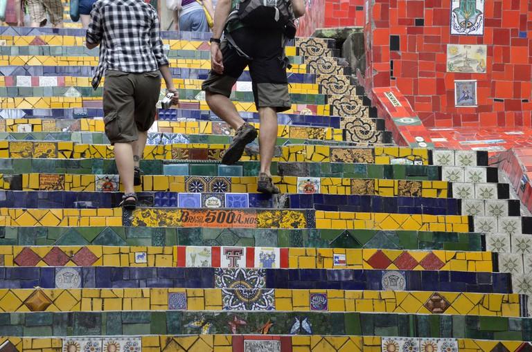 The famous Lapa steps |© Alexandre Macieira | Riotur/Flickr