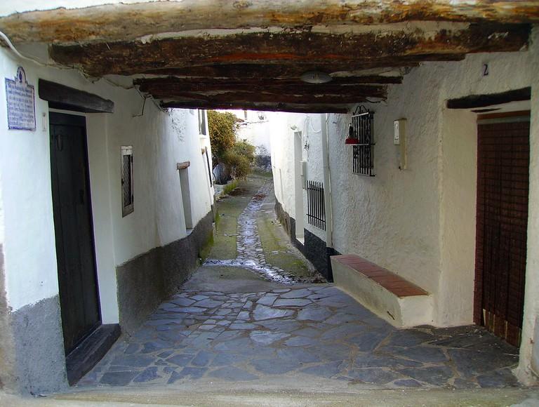 A typical street in the Alpujarra region of Granada; Giorgio Monteforti, flickr
