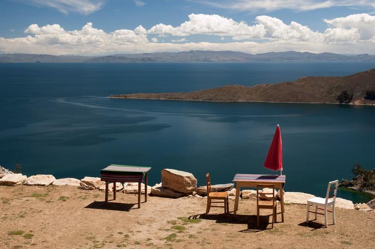 Restaurant on the Sun Island