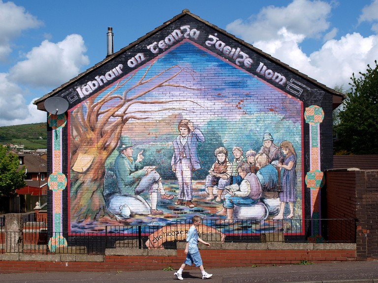 Irish Language Mural