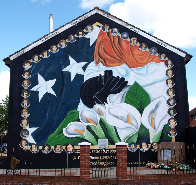 Irish Nationalism Mural