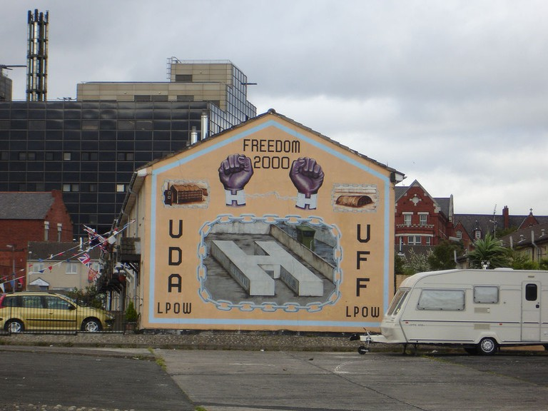 Ulster Mural