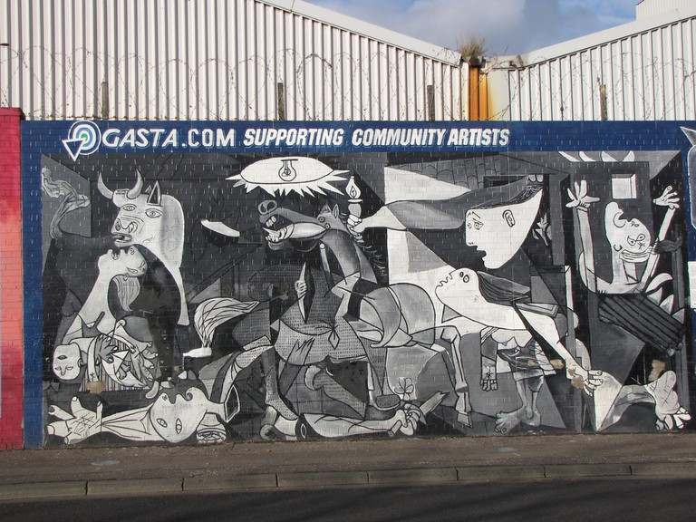 Picasso Mural