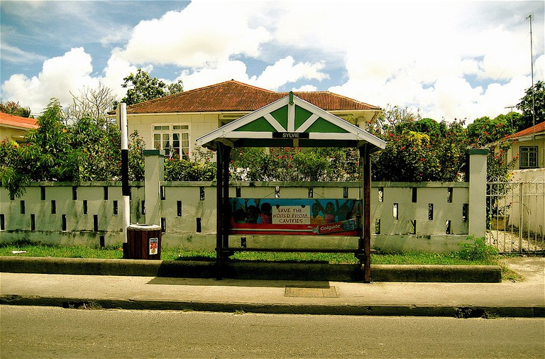 Sylvie — most bus stops on the island have women's names | © SteveR / Flickr