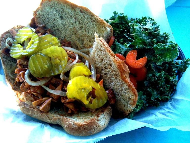 Counter Culture Vegan BBQ in Austin