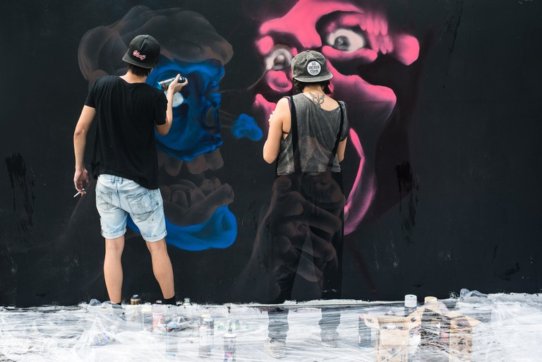 Aliwal Urban Art Festival for Singapore Art Week
