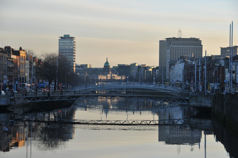 The River Liffey | © euphro/Flickr