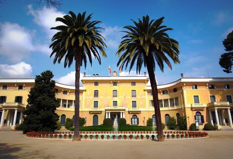 The royal palace today   © Almusaiti