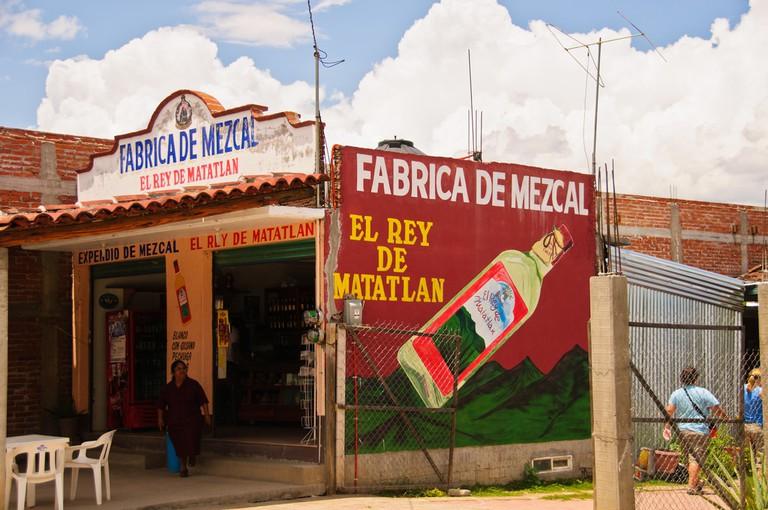 Mezcal Factory in Matatlán, Oaxaca   © Graeme Churchard/Flickr