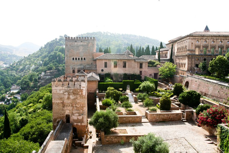 The Alhambra Fortress; Sharon Mollerus (flickr)