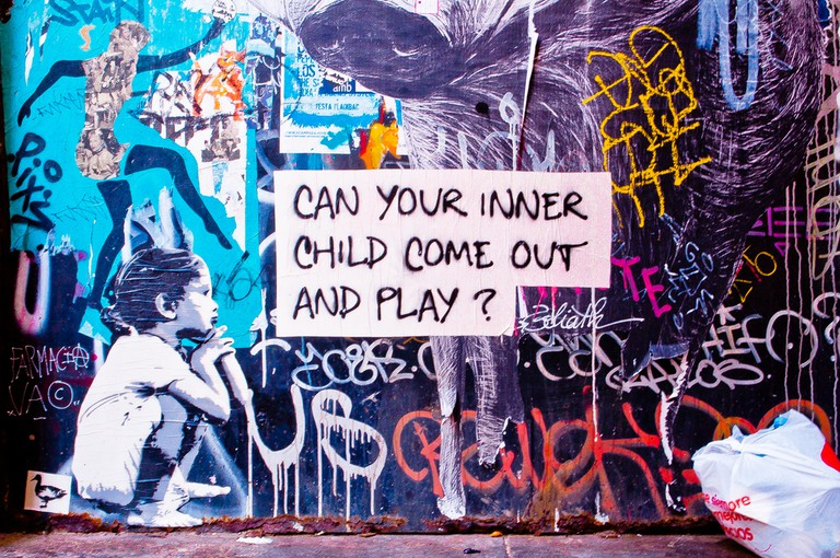 Can your inner child come out and play?