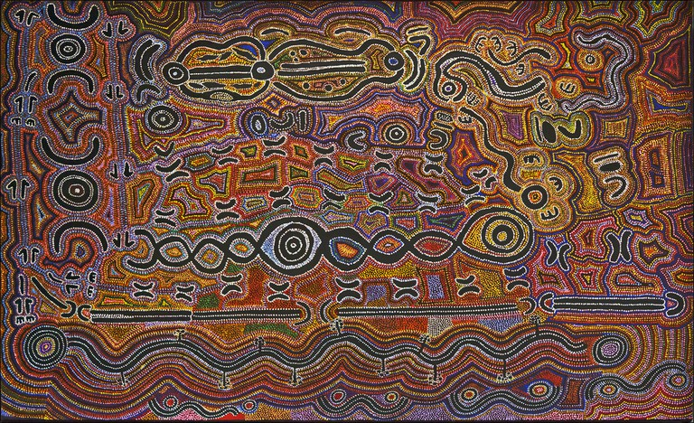 Aboriginal Religious Art At St. Mungo Museum | © dun_deagh/Flickr