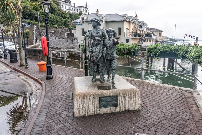 Annie Moore Memorial In Cobh (Cork)