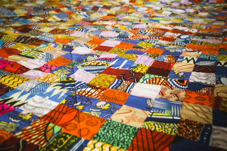 Ghanaian textiles.