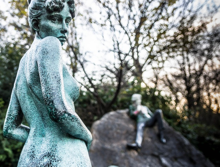 The Oscar Wilde Memorial In Merrion Square | © William Murphy/Flickr