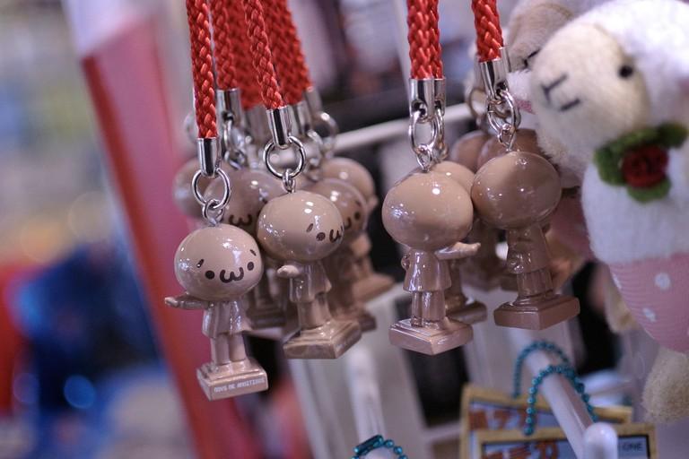 Gotochi charms from Hokkaido