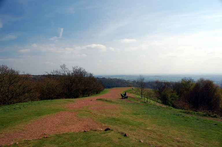 A view from the Clent Hills
