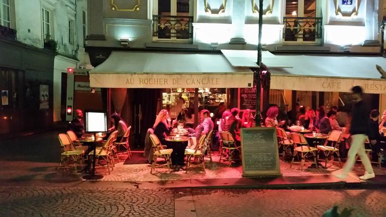 Rue Montorgueil  │