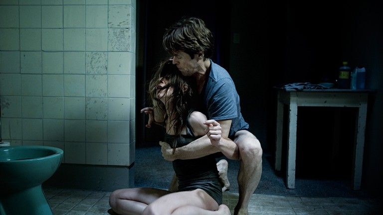 Willem Dafoe and Charlotte Gainsbourg in 'Antichrist'
