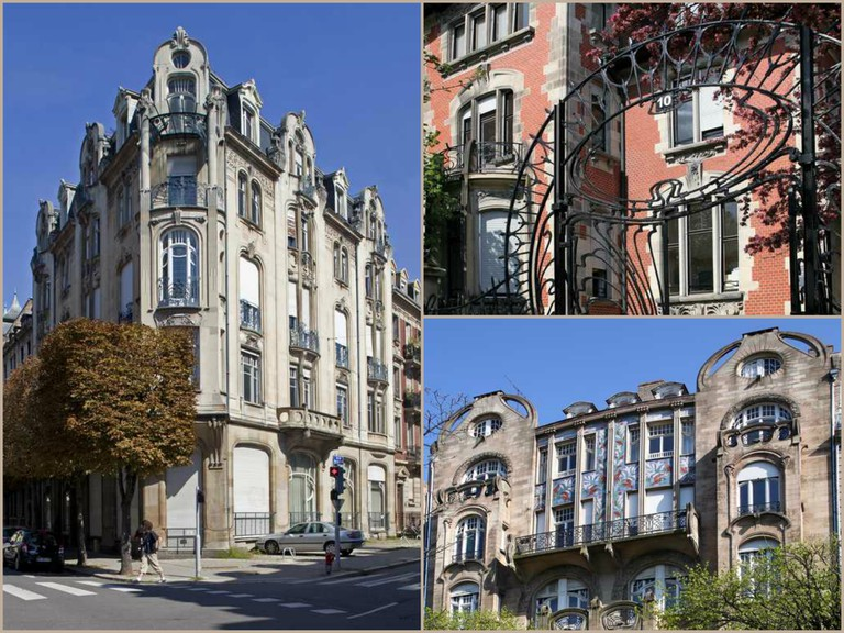 Art Nouveau architecture in imperial Strasbourg