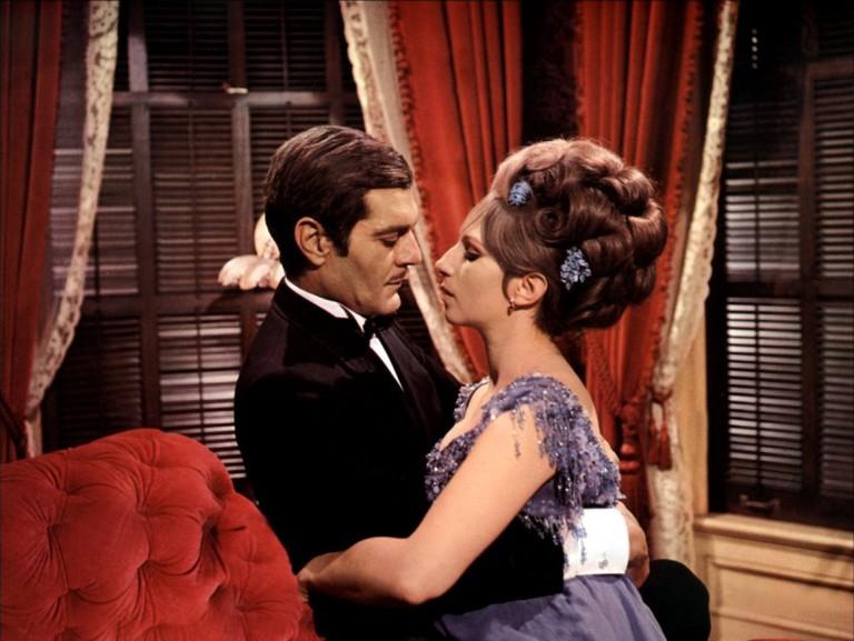 Omar Sharif and Barbara Streisand in 'Funny Girl'