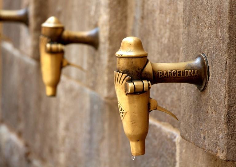 A Barcelona water fountain CC0 PIxabay