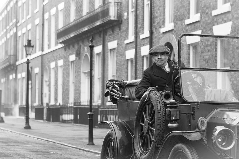 BBC's Peaky Blinders set